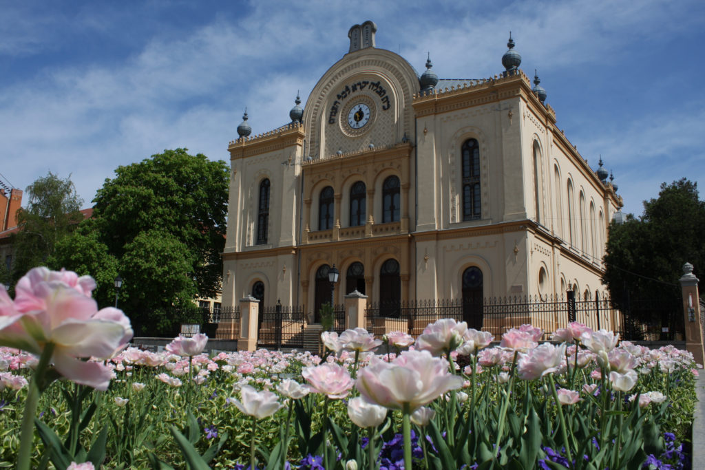 Romantikus stílusú zsinagógák