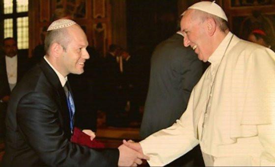 A ZSIMA elnöke újra találkozik Ferenc pápával